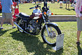 Triumph T-160 Trident 1975 RSideFront Lake Mirror Cassic 16Oct2010 (14874098431).jpg