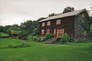 Trøndelag - Traditional Trøndelag house