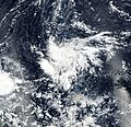 Tropical Depression 31W as seen from NASA's MODIS satellite on October 21, 2018.jpg