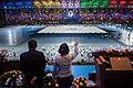 Tsai Ing-wen and Ko Wen-je on 2017 Summer Universiade (3).jpg