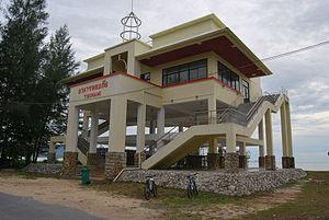 Tsunami shelter near Khao Lak Thailand