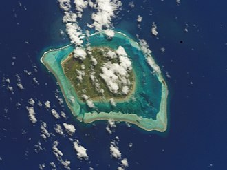 Tubuai - NASA picture of Tubuai