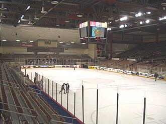 Erie Insurance Arena - Image: Tullio Arena interior