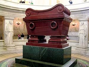 Retour des cendres - Napoleon's tomb at Les Invalides