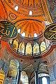 Turkey-03384 - Inside Hagia Sophia (11313562483).jpg