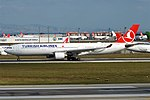 Turkish Airlines, TC-LNE, Airbus A330-303 (31423174528).jpg