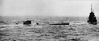 Convoy OB 318 - U-110 and HMS Bulldog