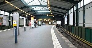 Gleisdreieck (Berlin U-Bahn) - Lower U2 platform