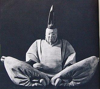 Meigetsu-in - Uesugi Shigefusa's statue, a National Treasure