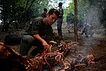 US, Japanese Airmen conduct survival training during Cope North 16 160216-F-CH060-274.jpg