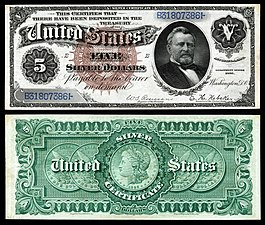 List Of United States Presidents On Currency Wikipedia