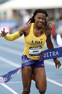 Aleia Hobbs American sprinter