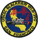 USCGC Blackhaw Badge