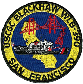 USCGC Blackhaw (WLB-390) - Image: USCGC Blackhaw Badge