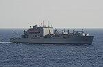 USNS Washington Chambers (T-AKE-11) survoje en oktobro 2014.JPG