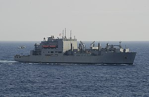USNS Washington Chambers (T-AKE-11) underway in October 2014.JPG