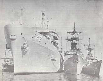 USS Acadia (AD-42) - Image: USS Acadia