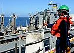 USS America's first underway replenishment 141001-N-CC789-169.jpg