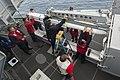USS Harry S. Truman (CVN 75) sailors load a missile into a NATO Sea Sparrow Surface Missile System-1.jpg