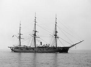 USS Lancaster (1858) - USS Lancaster