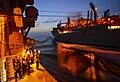USS Monterey (CG 61) at night.jpg