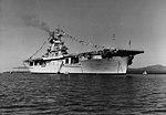 USS Wasp (CV-7) anchored at Guantanamo Bay on 27 October 1940 (NH 43463).jpg
