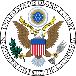 English: Seal of the en:United States District...