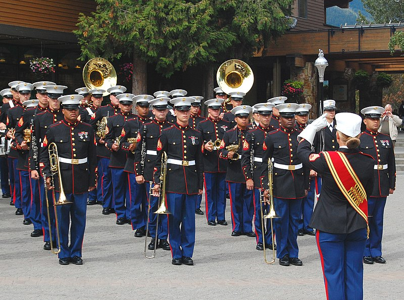 file us marine corps band pacific in whistler village