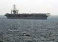 US Navy 030407-N-6817C-007 The aircraft carrier USS Nimitz (CVN 68) enters the Arabian Gulf to relieve USS Abraham Lincoln (CVN 72).jpg