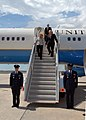 US Navy 070914-N-5783F-001 Vice President Dick Cheney and his daughter depart Air Force Two upon arrival to MacDill Air Force Base.jpg