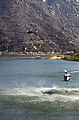 US Navy 071026-N-6597H-045 Two MH-60S Seahawks retrieve water from a lake near a wildfire in San Diego County.jpg