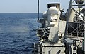 US Navy 091227-N-1291E-121 The close-in weapons system (CWIS) fired from the deck of the guided-missile cruiser USS Chosin (CG 65) during a training exercise.jpg