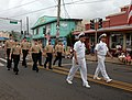US Navy 111105-N-YU572-112 Sailors from the Pacific Missile Range Facility march in formation during the annual Kauai Veterans Day Parade.jpg