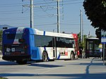 UTA bus at Meadowbrook station (Route 41), Aug 16.jpg