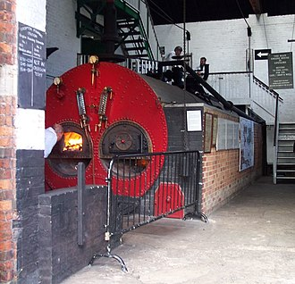Crofton Pumping Station - The boilerhouse