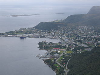 Ulstein - View of Ulsteinvik
