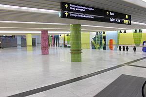 Umeå East Station - Image: Umeå Östra (interior)