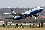 United Airlines Boeing 767-322-ER N641UA (22376161332).jpg