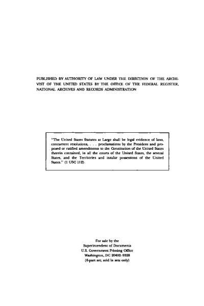 File:United States Statutes at Large Volume 110 Part 4.djvu