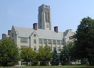 University of Toledo - University Hall was completed in 1931.
