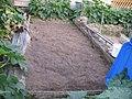 Unkrautfolie vom 3. Beet abgeräumt, 22.08.2012. - panoramio.jpg