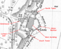 Upnor Castle OS map annotated.png