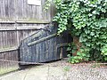 Upnor Walsall House gate with rudder 5570.JPG