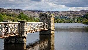 Water supply and sanitation in the Republic of Ireland - Upper reservoir of Bohernabreena Waterworks, Glenasmole