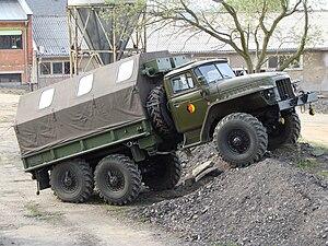 Ural Automotive Plant - East German Army Ural-375
