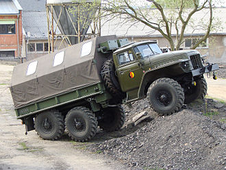 Ural Automotive Plant - East German Army Ural-375