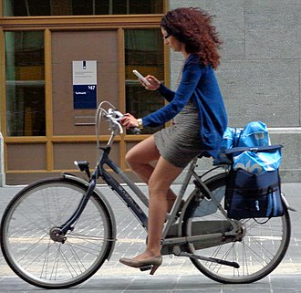 Active mobility - The urban bicycle, one of the most spread and known vehicle for active mobility