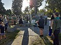 Uroczystości upamiętniające powstanie warszawskie na Cmentarzu Centralnym w Sanoku (2020-08-01)d.jpg