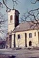 Várdomb, Templom tér, Keresztelő Szent János-plébániatemplom. Fortepan 23525.jpg