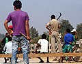 VOILENCE IN PANCHAYAT POLL IN GOALPARA,ASSAM,INDIA.THE PROTESTERS OF RHAJMC BLOCKED -13.jpg